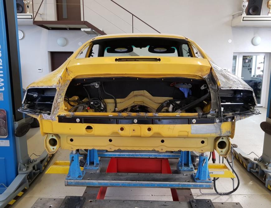 Klampiarske práce Porsche