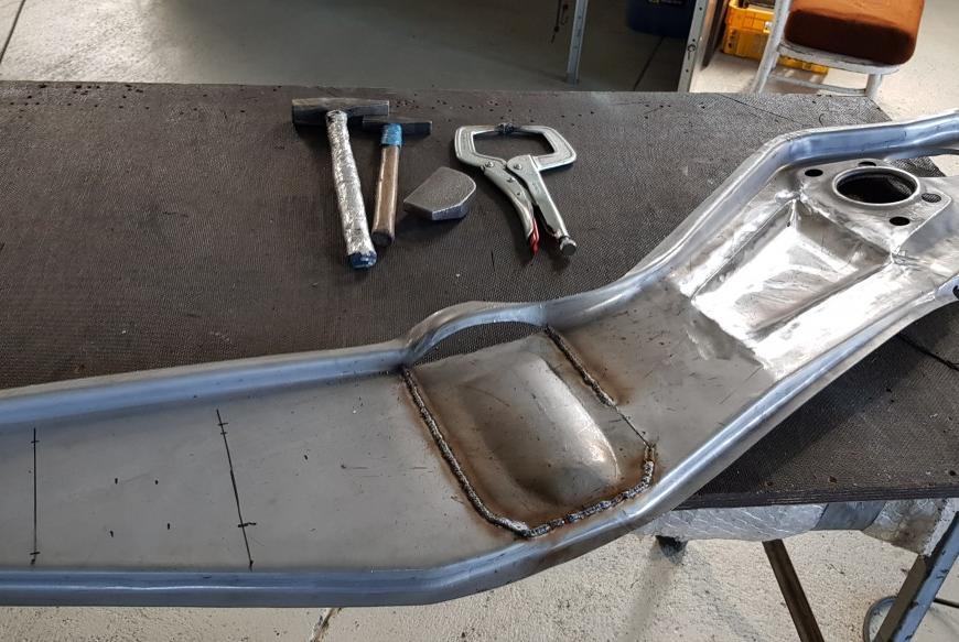 Výroba dielu na Porsche 356