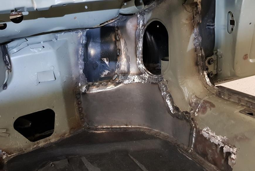 Výroba dielu na Porsche Targa