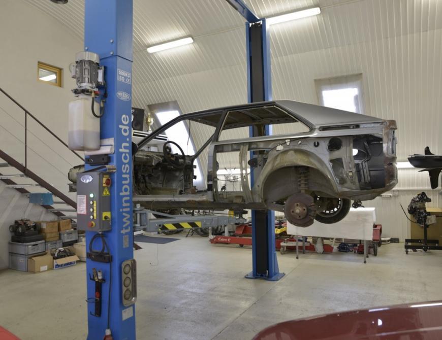 Začiatok projektu Audi S1
