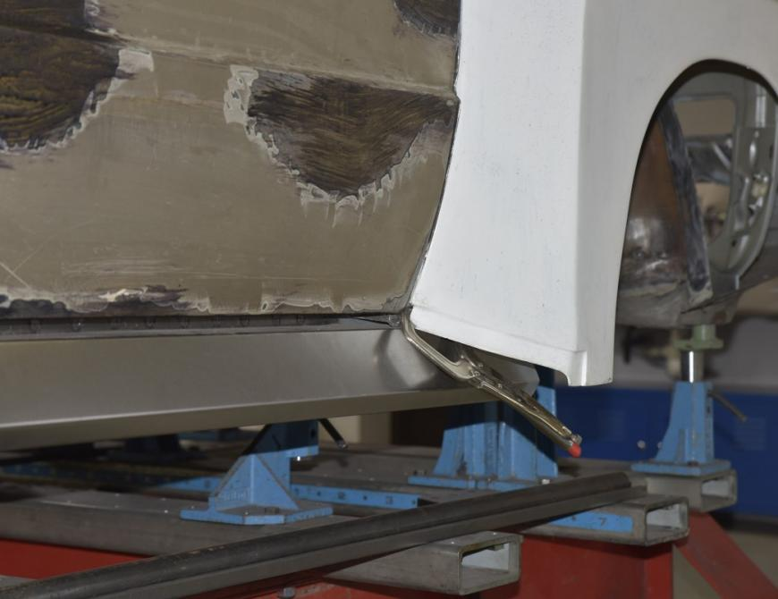 Audi S1 - Skúška bodykitu