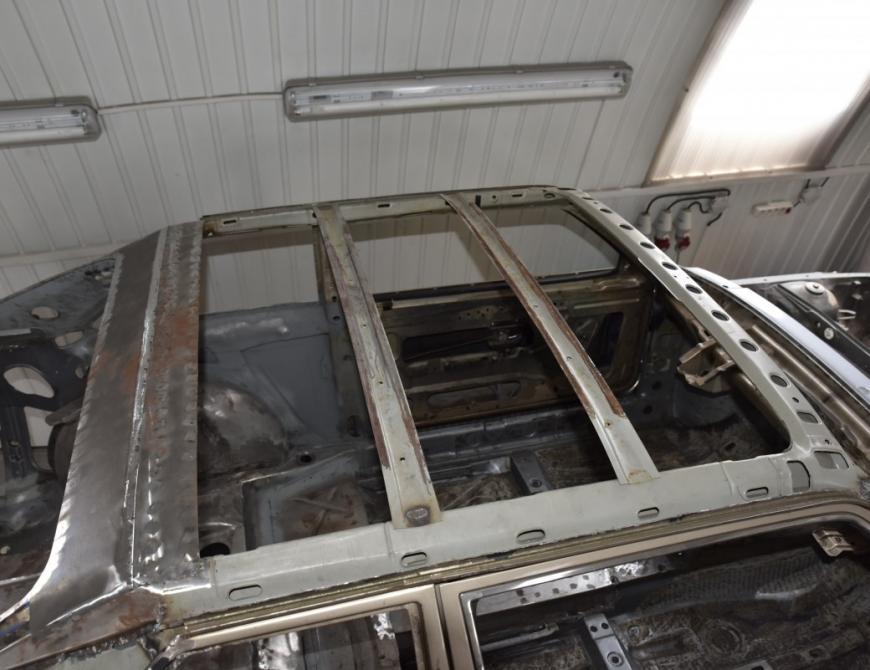 Audi S1 - Príprava strechy
