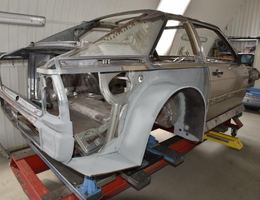 Audi S1 - Podbehy vyrobené na mieru