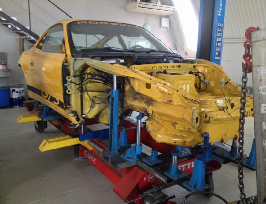 Oprava karosérie Porsche