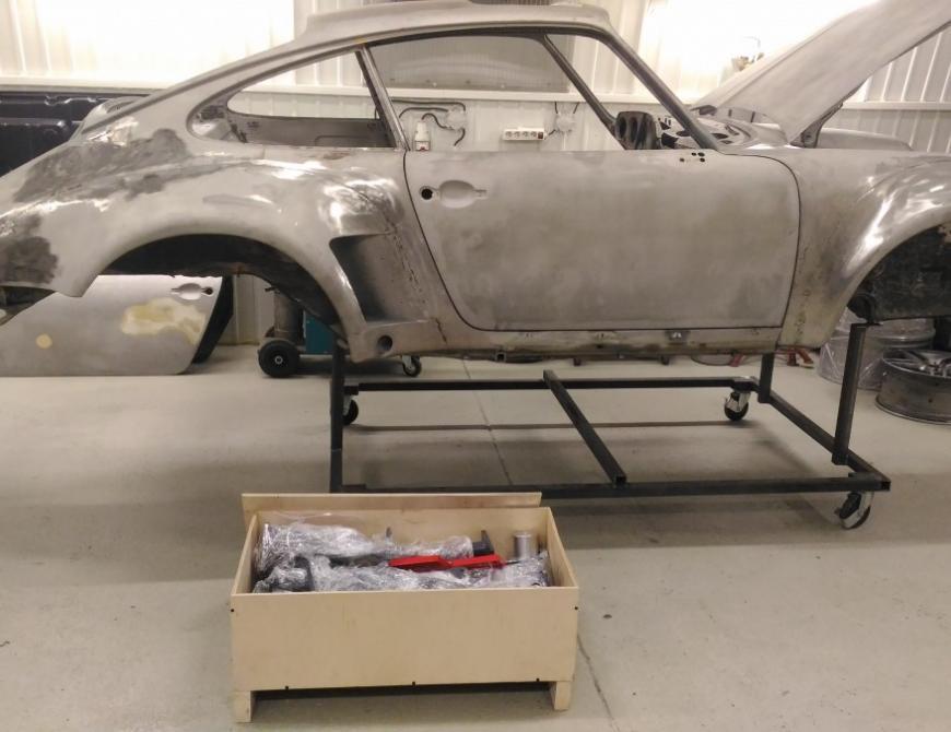 Oprava Porsche 911 G-S